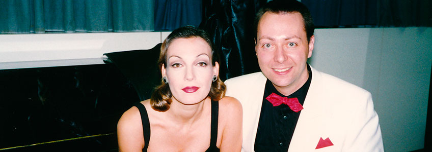 Ute Lemper and Hermann Reuther