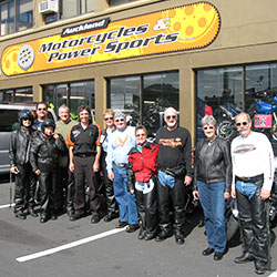 Harley-Davidson Guided Tour New Zealand