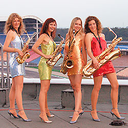 The Saxy Ladies / Saxophon Musik