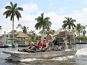 Airboat Tour, Florida Everglades
