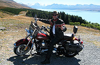 Around the world on a Harley