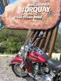 Australia, Harley-Davidson Motorcycle Tour, Great Ocean Road