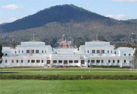 Australia, Canberra -  Government House of Parliament