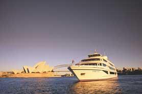 Sydney Captain Cook Harbour Dinner Cruise