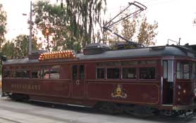 Australia, Colonial Tram Car Restaurant, Melbourne