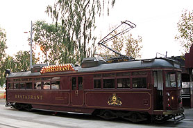 Colonial Tram Car Restaurant Melbourne Australia
