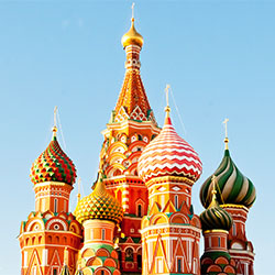 Basilius Cathedral, Red Square, Moscow