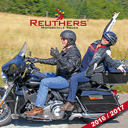 Reuthers Motorcycle Tours eCatalog 2016 / 2017