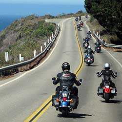 Guided Motorcycle Tour Highway 1