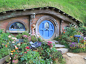 Hobbiton, the original Lord of the Rings film location