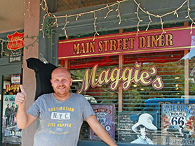 Maggie's Diner, Madrid / Wild Hogs Movie