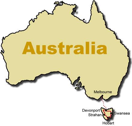 Tasmania Australia Travel Tour Rental Car Reuthers