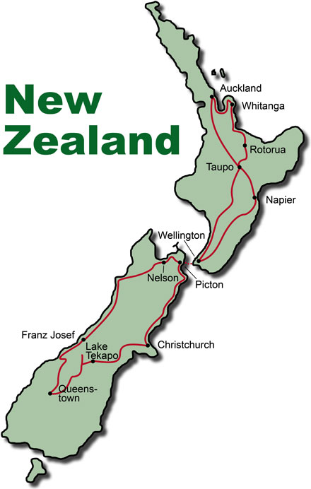 New Zealand Rental Car Tour Discover