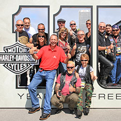 Harley-Davidson 115th anniversary Milwaukee