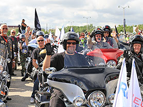 Harley-Davidson Parade Milwaukee