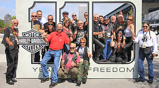 Harley-Davidson Anniversary Celebrations in Milwaukee