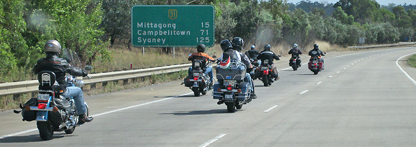 Motorcycle Tours Australia Down Under