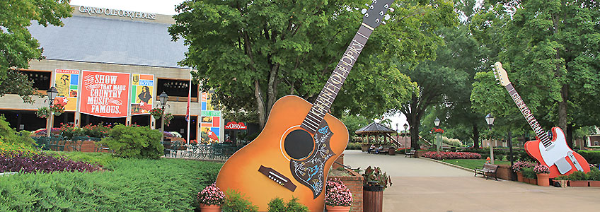 Motorcycle Tours Bluegrass Wonders, Grand Ole Opry House