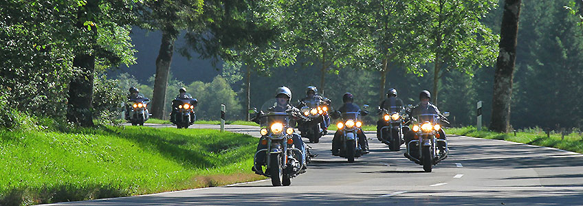 Motorcycle Tours Germania - travelling Germany