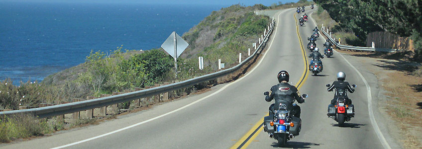 Guided Motorcycle Tour Highway 1 Usa By Reuthers Harley Davidson Bmw