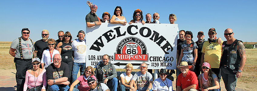 Motorcycle Tour Route 66 Dream