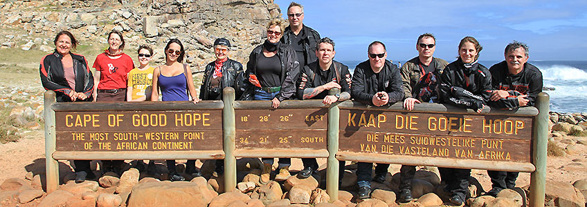 Motorcycle Tours South Africa, Cape of Good Hope