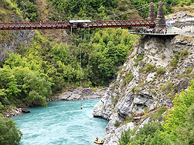Bungee Jumping, Kawarau Bridge, New Zealand