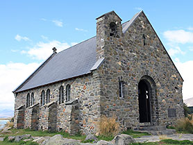 New Zealand, Church of the Good Shephard