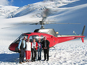 New Zealand, Franz Josef Helicopter Flight