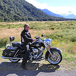 Guided Motorcycle Tour New Zealand Highlights