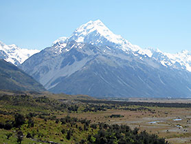 New Zealand, Mount Cook