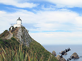 Neuseeland, Nugget Point Lighthouse