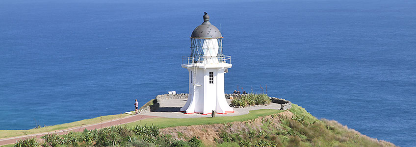 Lighthouse Cape Reinga, New Zealand