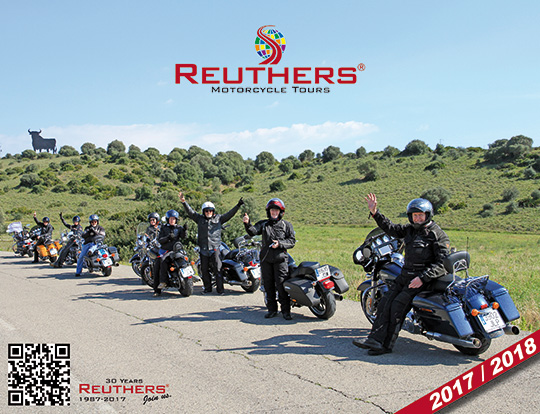 Reuthers Motorcycle Tours 2017-2018