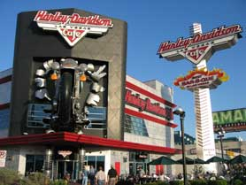 Harley-Davidson Cafe Las Vegas, Nevada