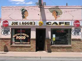 Joe and Aggie's Cafe in Holbrock, Arizona