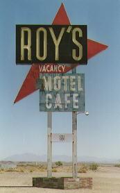 Roy's Cafe Amboy, California