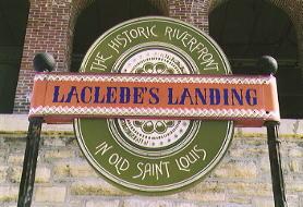 Laclede's Landing in St. Louis