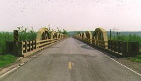 Bridge over Canadian River