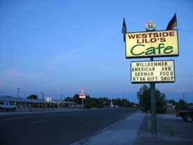 Westside Lilo's Cafe Seligman, Arizona