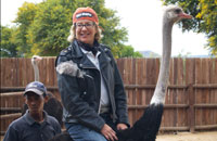 South Africa, Ride an Ostrich