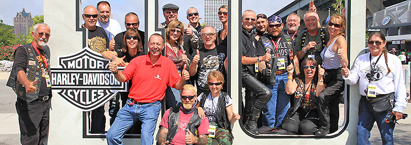 Reuthers Special Event Tours for the 115th anniversary of Harley-Davidson in Milwaukee