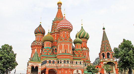 St. Basils Cathedral, Red Square, Moscow