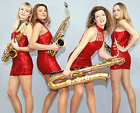 The Saxy Ladies
