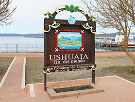 Ushuaia, end of the world, Argentina
