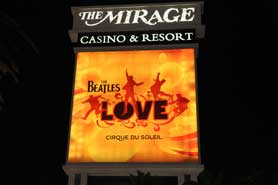 The Beatles, Mirage, Las Vegas