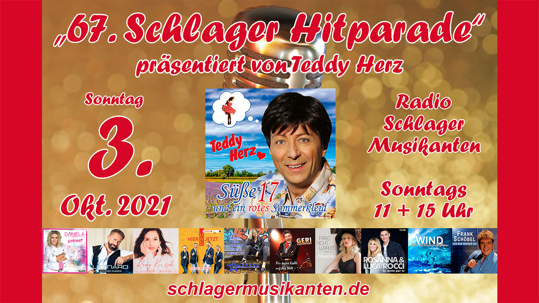 67. Schlager Hitparade auf Radio Schlager Musikanten
