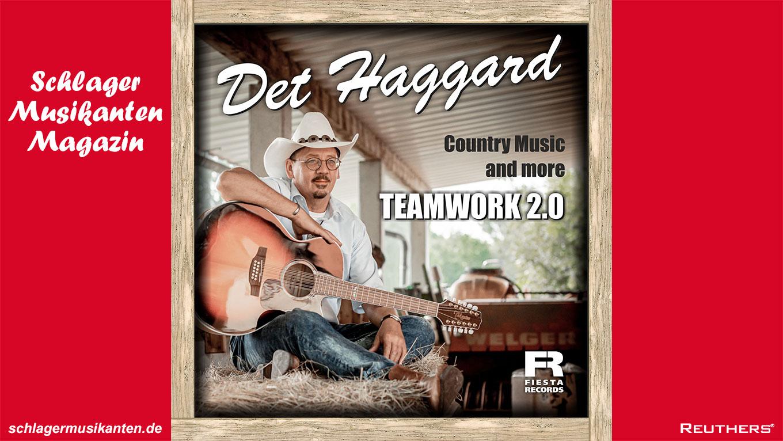 """Der """"Sanfte Cowboy"""" Det Haggard veröffentlicht sein Album """"Teamwork 2.0"""""""