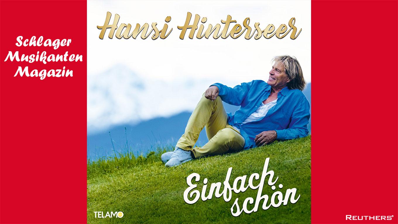 """Hansi Hinterseer veröffentlicht """"Einfach schön"""""""