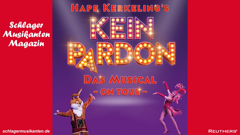 """LOU Hoffner für """"Hape Kerkelings KEIN PARDON - Das Musical On Tour"""" verpflichtet!"""